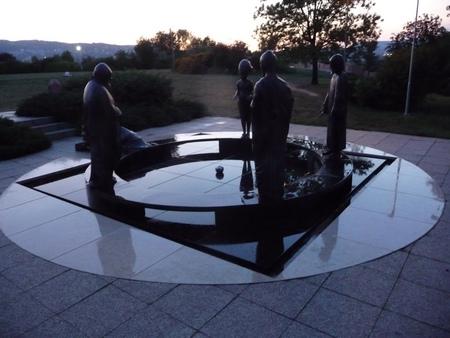 Garden of Philosophy on Gellért Hill, Budapest